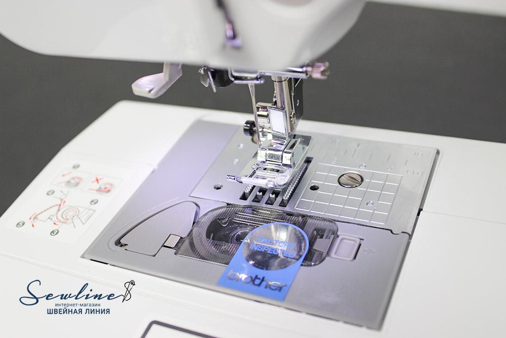 Brother JS100, компьютеризированная швейная машинка