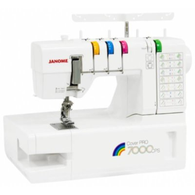 Плоскошовная машина Janome  Cover Pro 7000 CPS